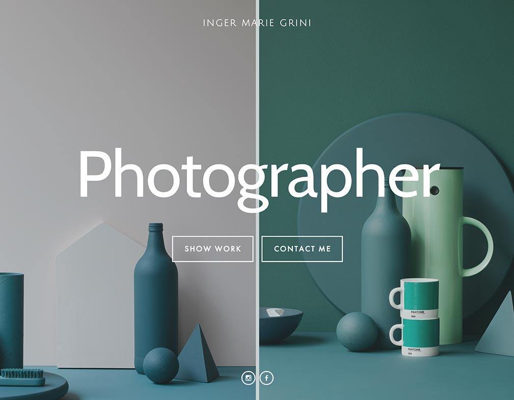 Photographer Inger Marie Grini