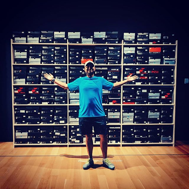 When will I have a wall like this ?? Current progress 10% .... and growing :) #sneakerhead