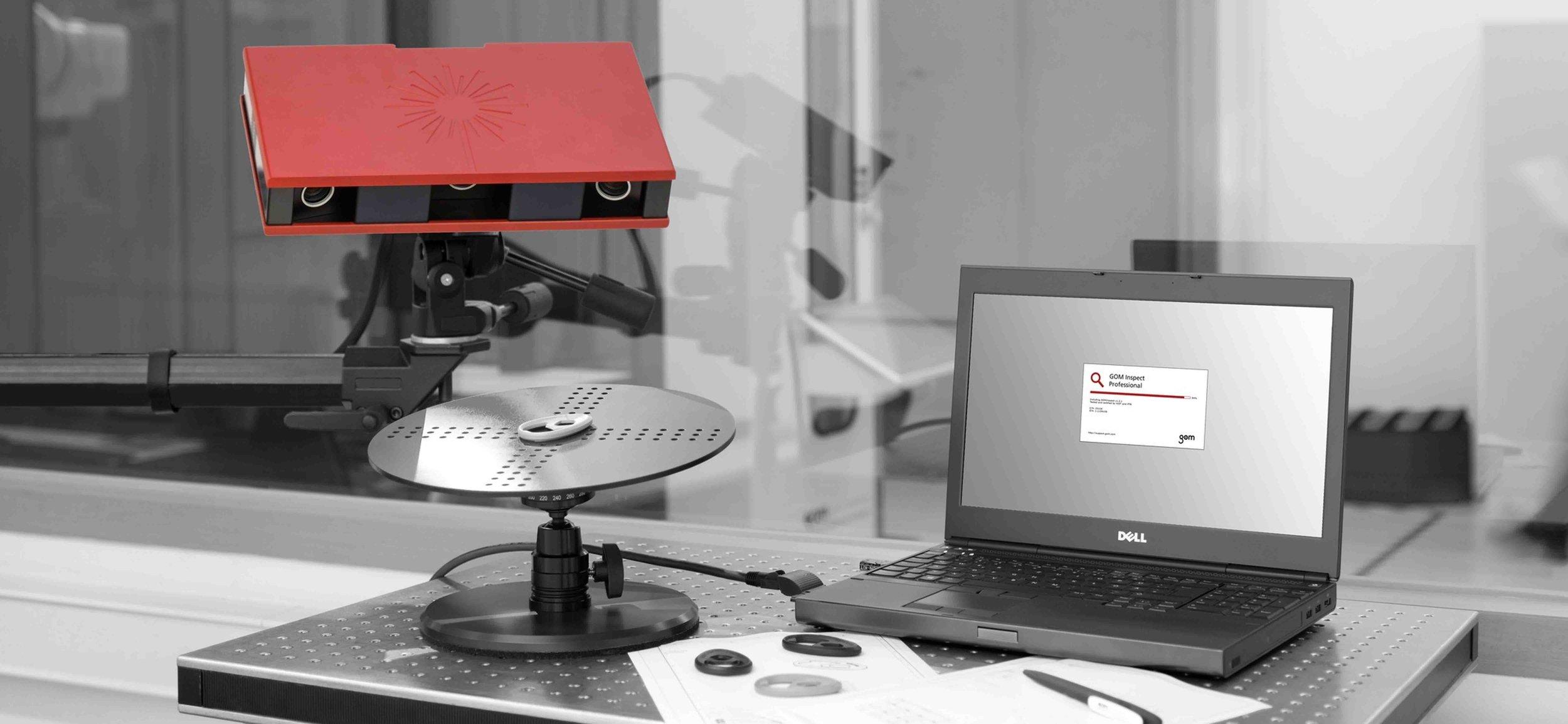 Metrología 3D industrial - Precisión Inigualable