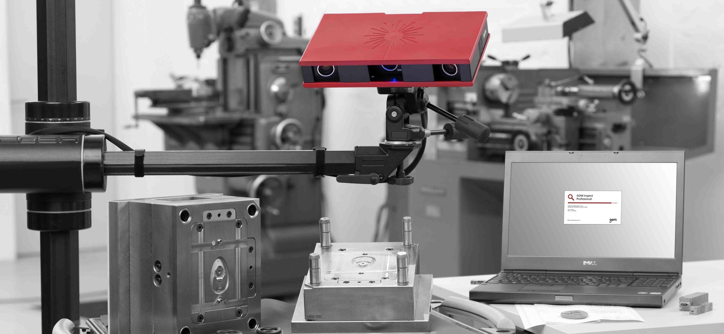 ATOS Core - Escáner 3D Óptico