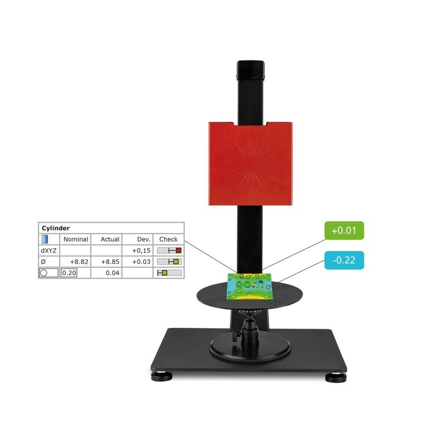 ATOS para la Educación - Paquete completo de cursos teóricos y prácticos en escuelas, institutos de educación superior y universidades. Incluye hardware y software industrial para escaneo e inspección en 3D, así como experimentos de laboratorio listos para usar y material de conferencias con información técnica.