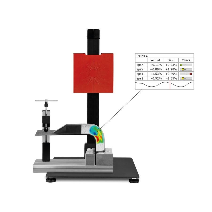 ARAMIS para la Educación - Cursos de aprendizaje y capacitación para prueba de materiales y componentes. Se utiliza en programas de estudio y campos especializados como ciencias de materiales / pruebas de materiales, ingeniería mecánica / ingeniería automotriz / mecatrónica y FEM.