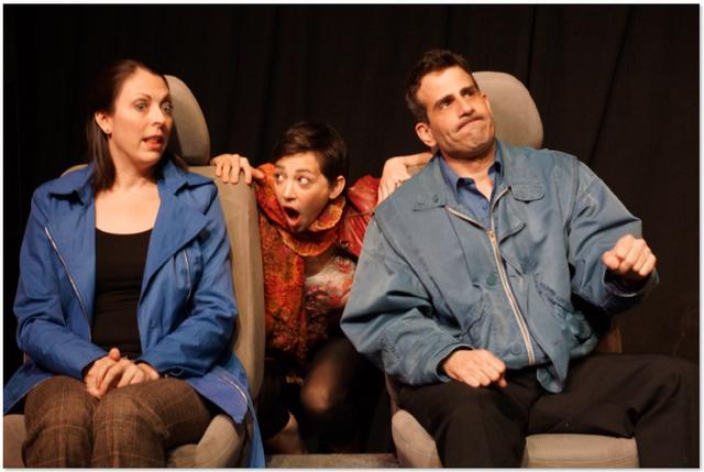 Katie Braden, Amanda Sayle and Tom Pennacchini.