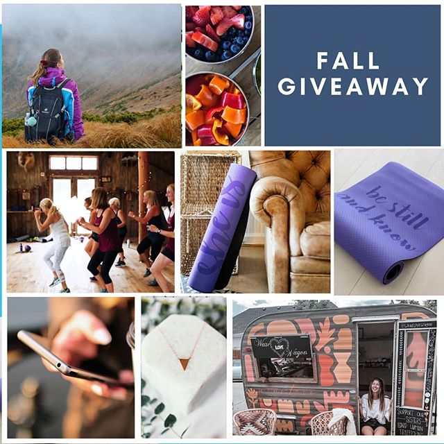 "✨🥳 GIVEAWAY TIME 🥳✨ .. With summer coming to a close 🌅 and a new season on the horizon 🍁 we are so excited to team up with some of our favorite brands to gift one lucky winner this amazing bundle of goodies!  From Faith to fitness and everyday healthy choices we hope you will love this prize package as much as we do. .. WHAT YOU COULD WIN from US: • LIFETIME access to Faithful Workouts' Premium Membership • FW Fruit Of The Spirit Bible Study ebook devotional • FW NEW Fitness Loop • ""Be Still"" OR ""I Can Do All Things"" Yoga Mat from @stillwatersco • Necklace & Candle from @wearlovewagon .. HOW TO WIN To enter you must: 1. BE SURE to follow us @FaithfulWorkouts, as well as @StillWatersCo & @wearlovewagon to qualify for this grand prize 2. TAG a friend (for additional entries tag as many friends as you like, but one tag per comment please:) 3. GET 5 additional entries if you share THIS POST to your stories (be sure to tag @FaithfulWorkours so we don't miss it!🙌🏽) .. **CONTEST ends on Wednesday, September 18th at 11:59pm EST and WINNER will be announced in our stories on Thursday, September 19.  Must be 18+ and live in the USA to win. Please note, by entering this giveaway, you acknowledge that this is not sponsored, endorsed or administered by or associated with Instagram.  Happy GIVEAWAY MONDAY & GOOD LUCK!! 🙌🏽🎉🎁"