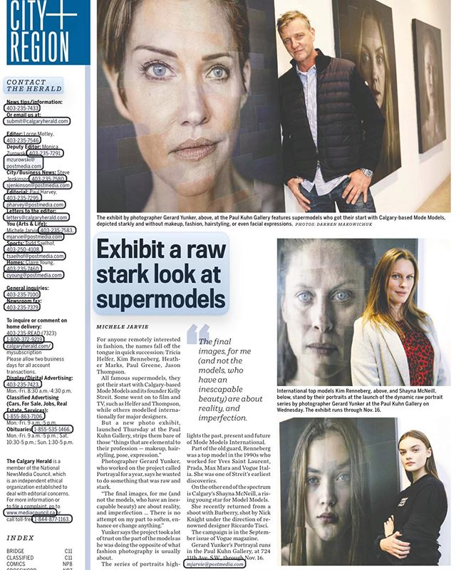 Thank you @calgaryherald for the great article in today's paper