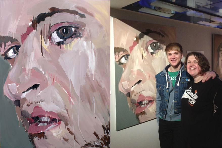 Paolo.Albertazzi.Julie.Bennett.painting