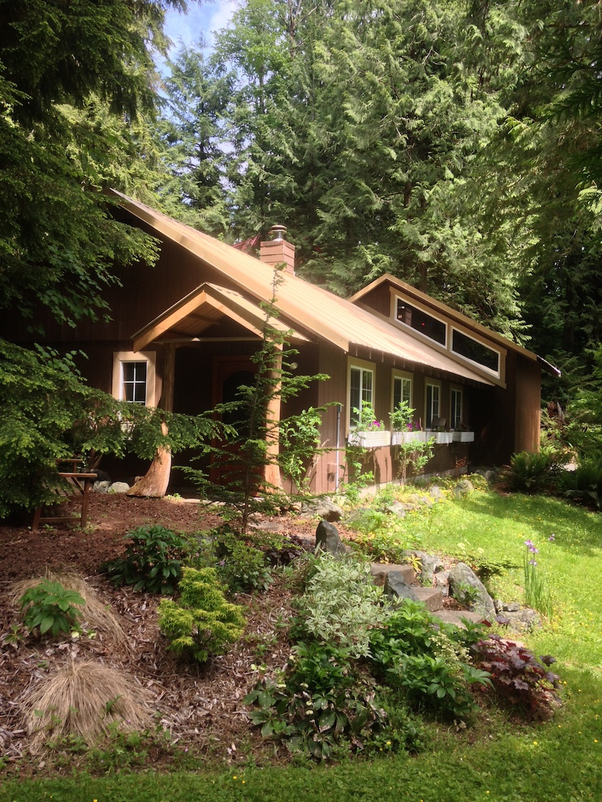 Nestled in the cedar forests of the Mt Baker foothills,lies a recording artists's dream.