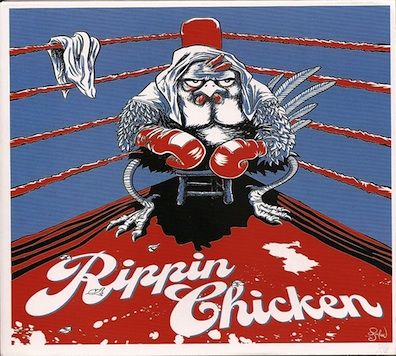 """Has there ever been a more appropriate adjective in a band name than the rippin in Rippin Chicken? I mean these guys RIP! They were in session here recently and were even inspired to write a track influenced by Bell Creek Studio itself """"Iris Springs,"""" which is how some of them fondly refer to our studio due to the garden's inspirational waterfalls. We absolutely love it when these guys come around and are planning a live release in the near future."""