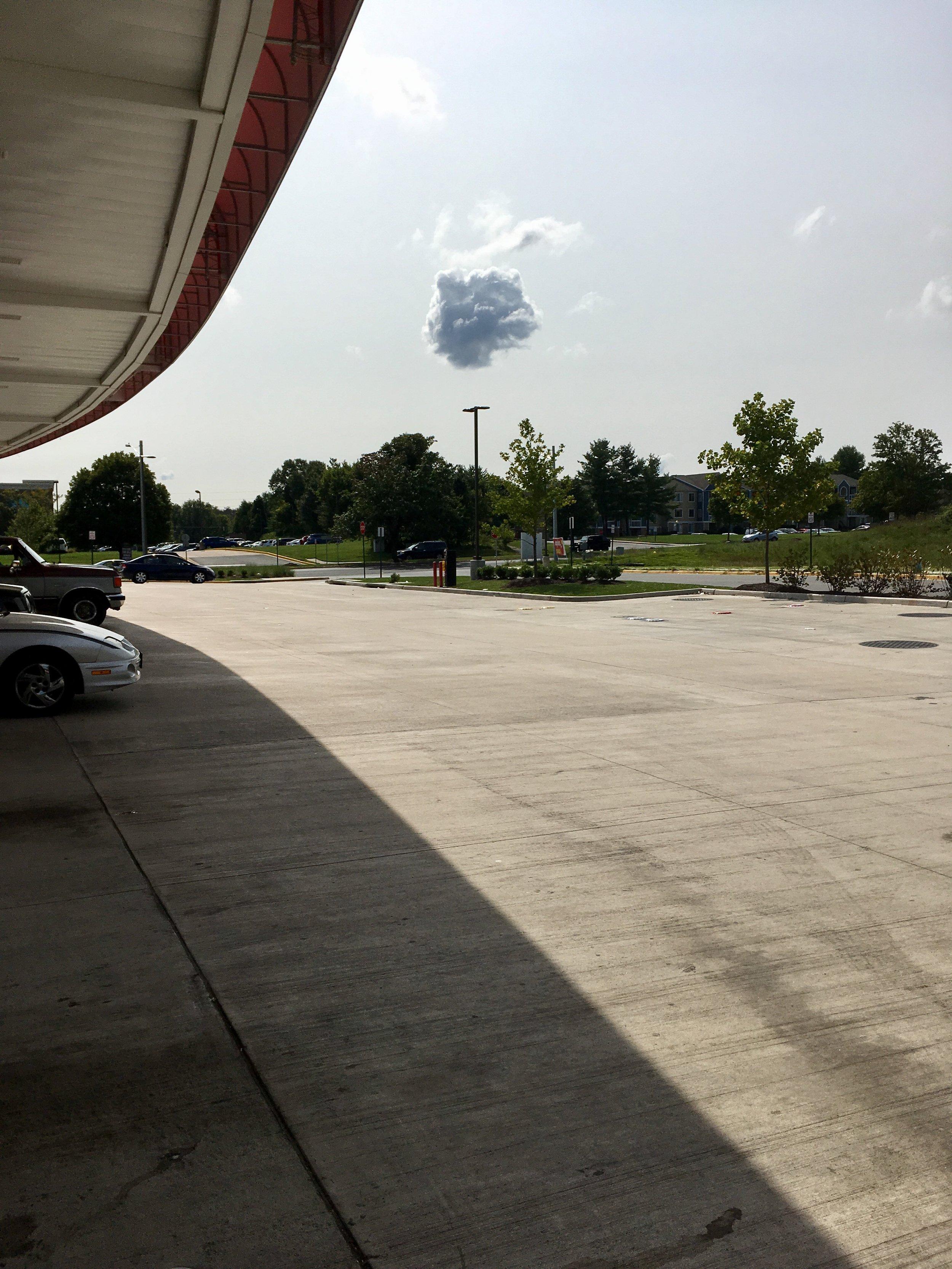 Lone cloud, Manassas VA