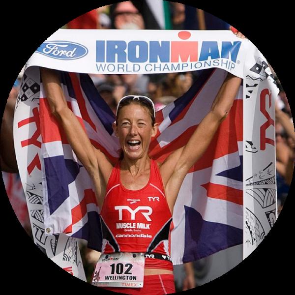 Chrissie Wellington OBE   World Ironman Champion & World Record Holder