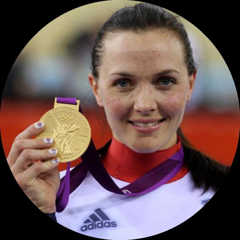 Victoria Pendleton CBE   Double Olympic Gold Medallist, World Champion Track Cyclist & Jockey