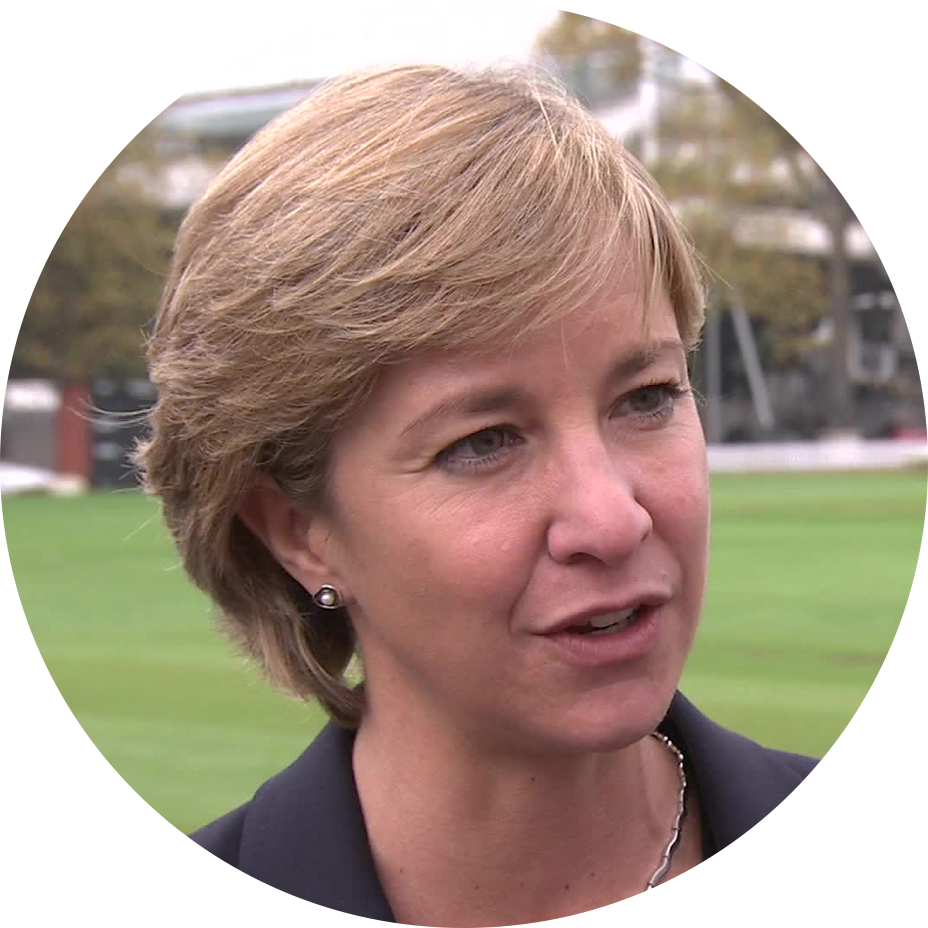 Clare Connor CBE   Chair of International Cricket Council Committe & Former England Cricket Captain