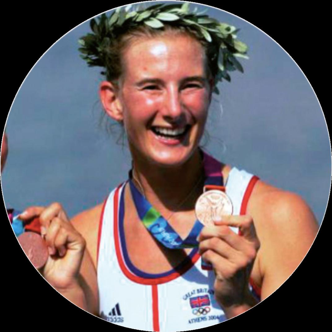 Sarah Winckless MBE   Olympic Bronze Medallist & Double World Champion