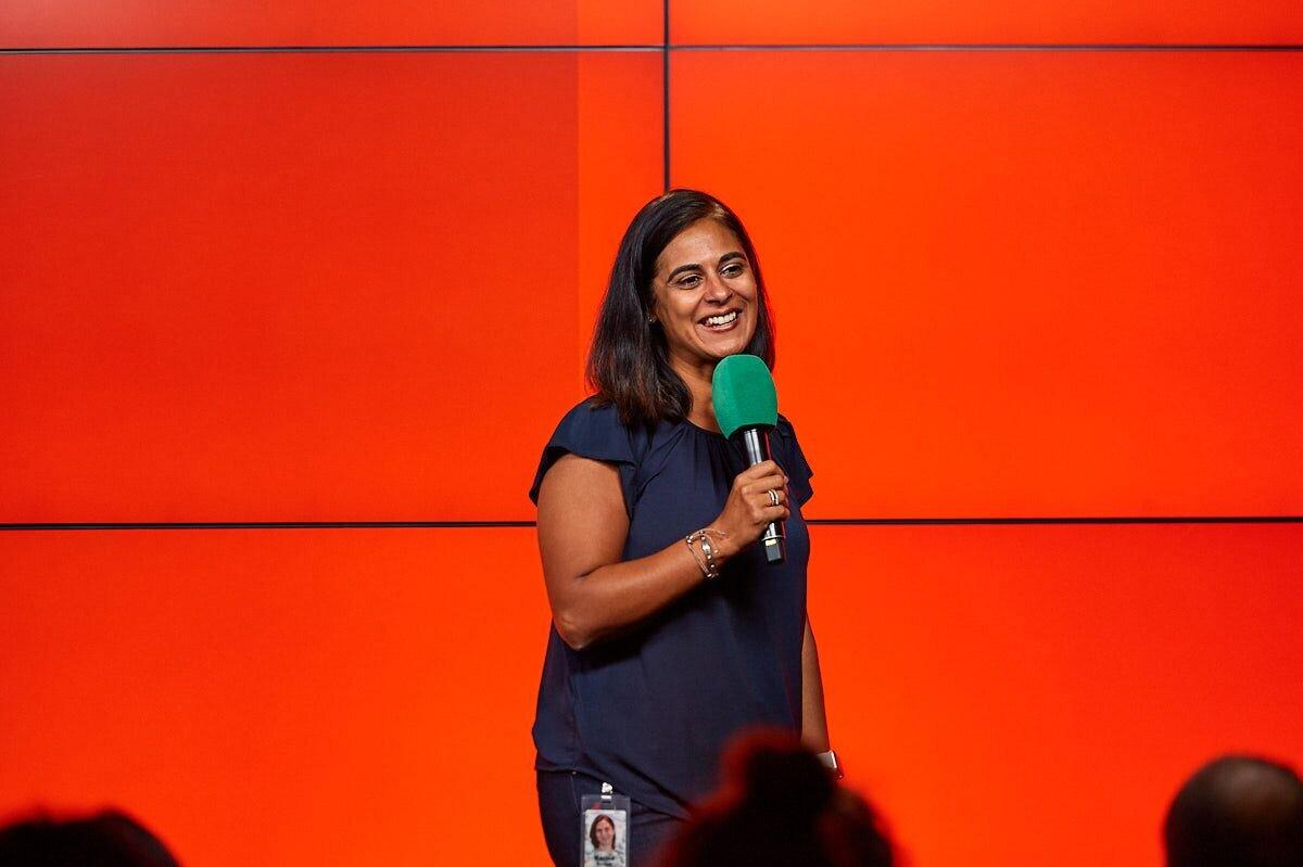 Karina Govindji    Director of Diversity, Google EMEA region