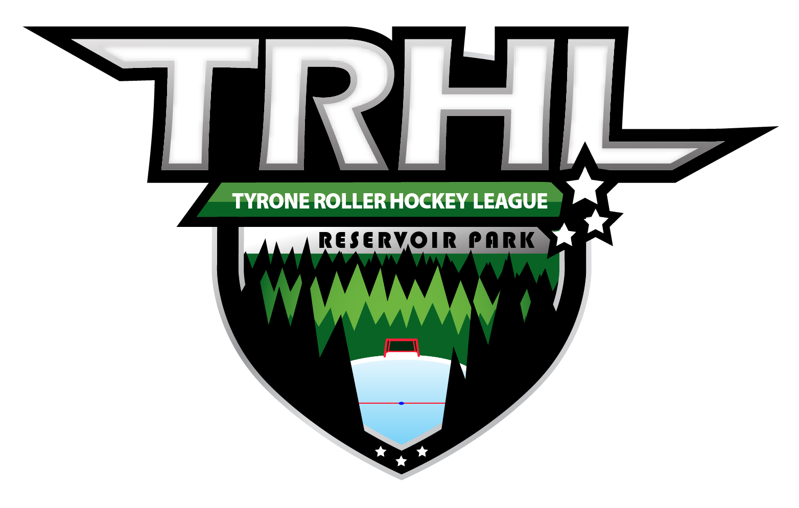 TRHL was started in 2008. The league runs from early May through August each year and culminates in the annual Summer Classic championship series to claim the coveted 'Mayor's Cup'.  Games are played on Sundays at Tyrone's Reservoir Park outdoor hockey rink. The league is for ages 14 and up.