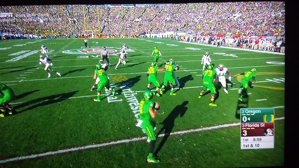 Spider Cam View - Credits to oregon.247sports.com