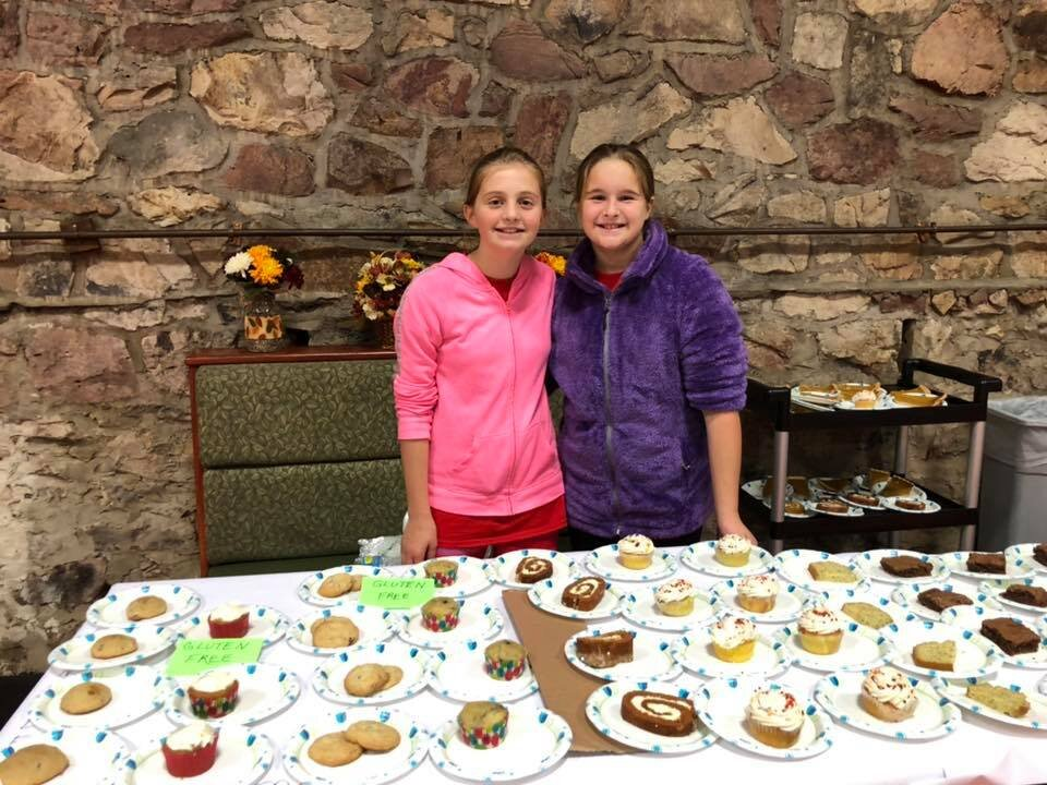 The Thanksgiving Dinner is a great way for teens to learn the value of serving others. Desert anyone?