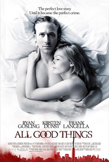 All Good Things  Director: Andrew Jarecki Assistant to Composer