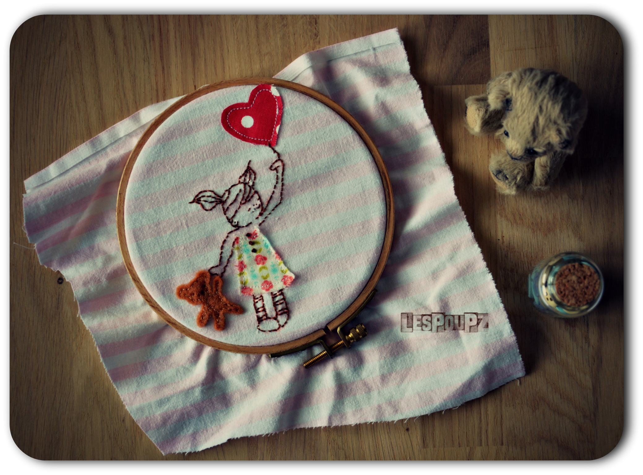 I love embroidery and pretty tiny details