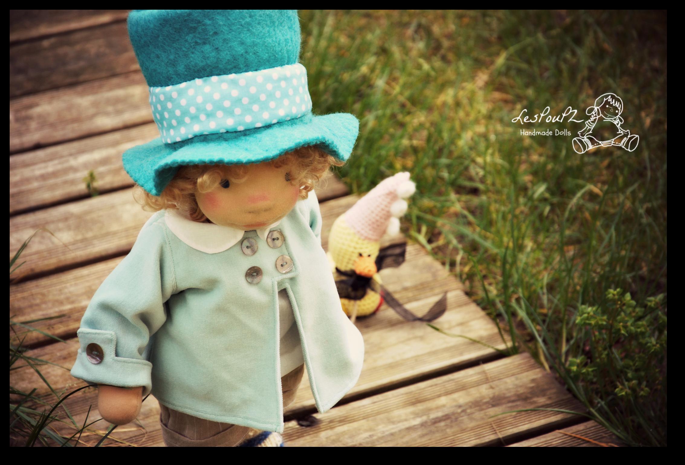 Monsieur Yvon and his duck friend