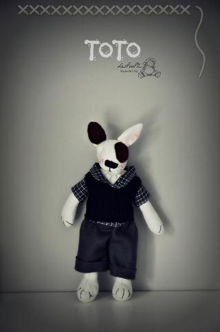 Toto, a cute doggie friend for Niels