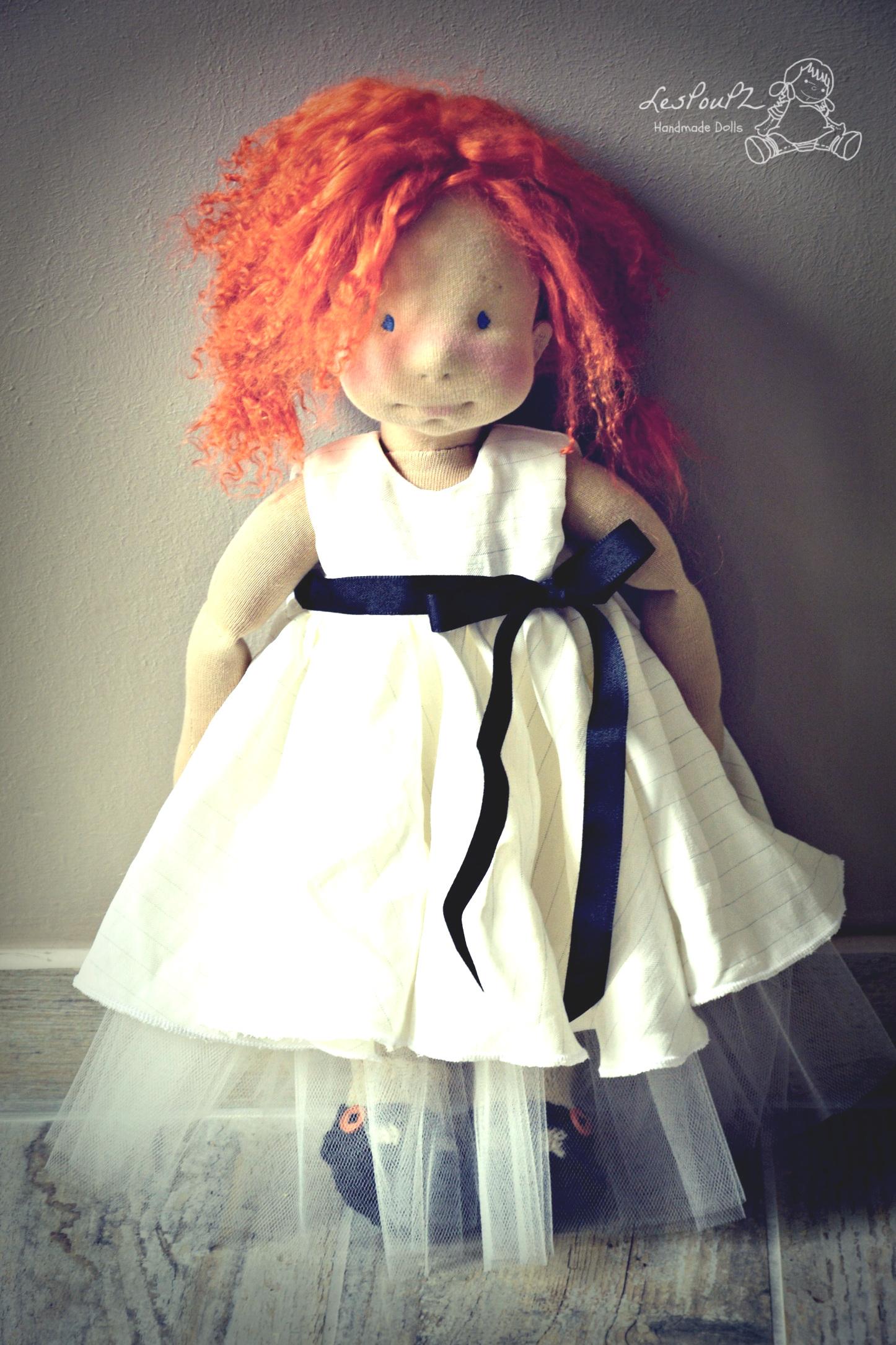 Zélie in her beautiful romantic twirl dress