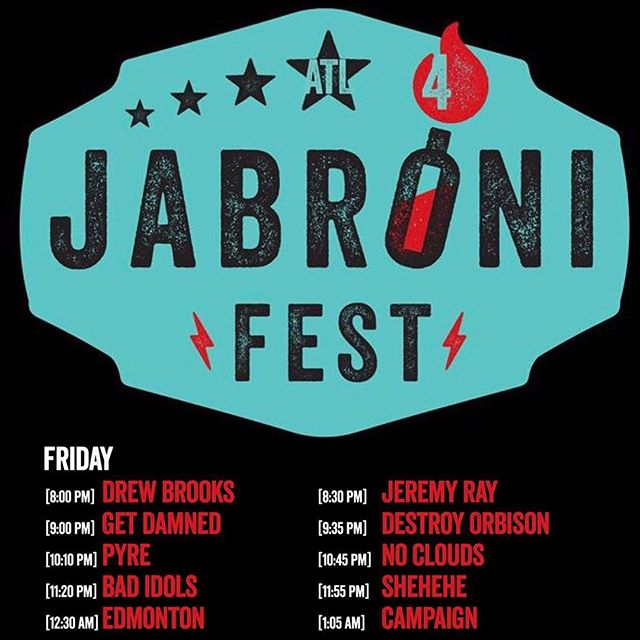 This weekend is Jabroni Fest, you know where to find us! #itlikestopsrty