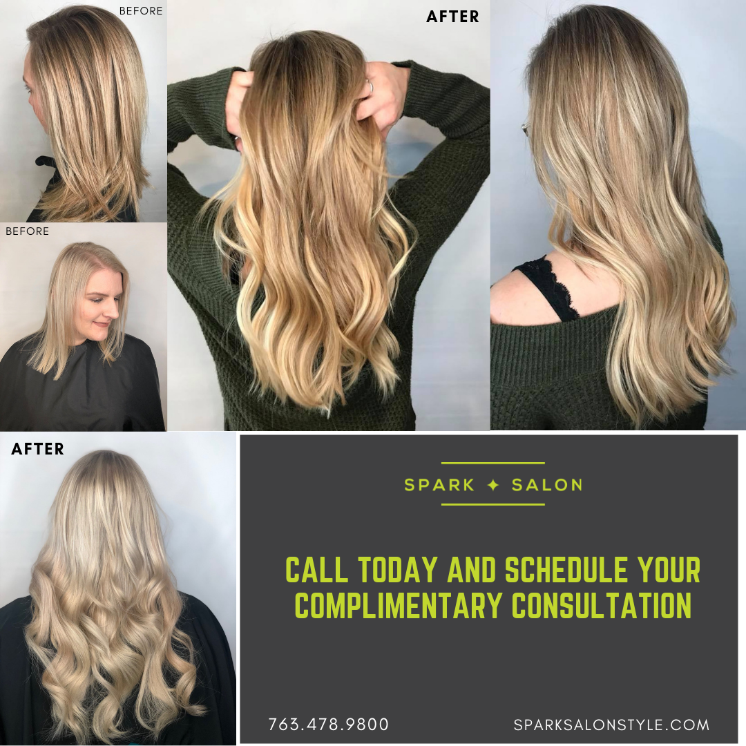 hair extensions, best extensions, tape in extensions, longer hair, thicker hair, maple grove, minnesota, plymouth, wayzata, medina, hot heads