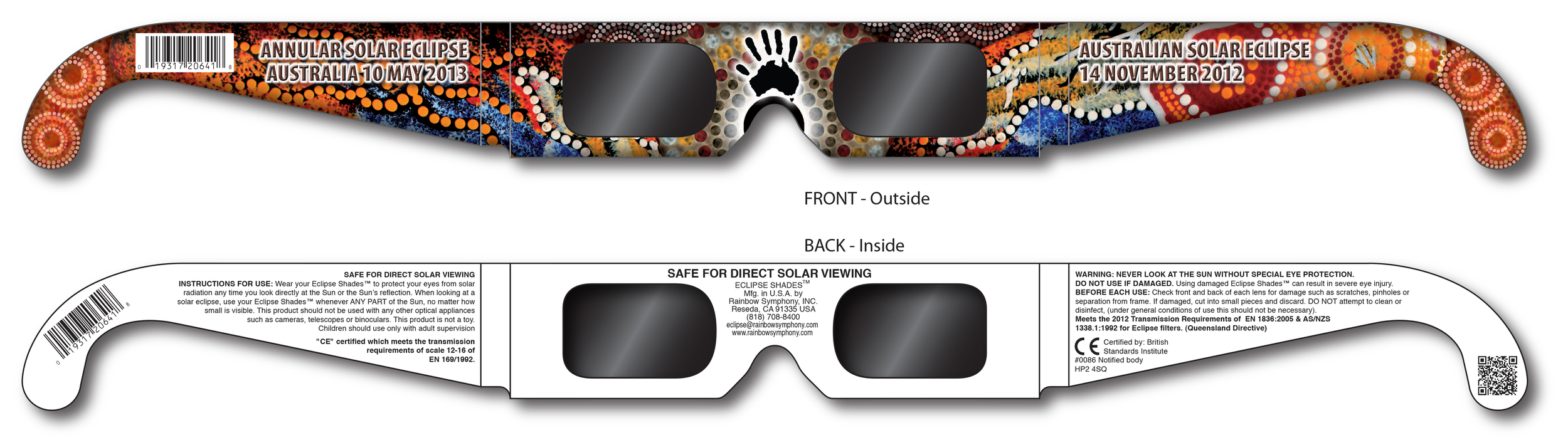 Eclipse Australia 2012 - Aboriginal Design