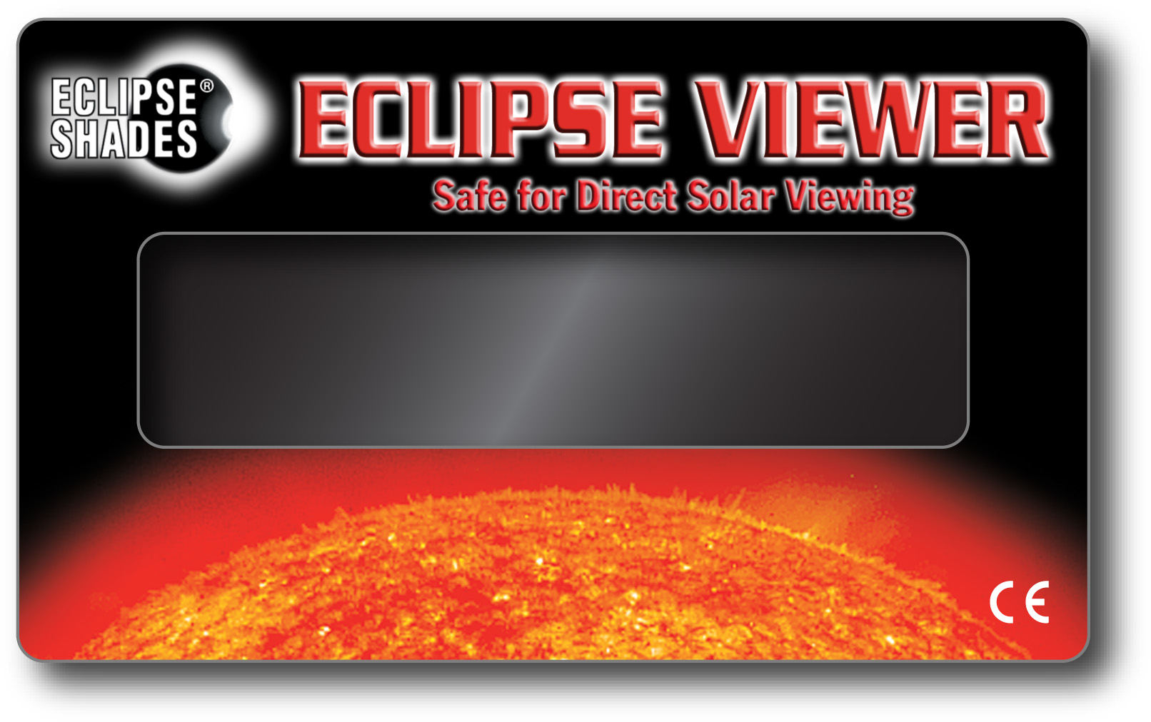 "Solar Eclipse Viewer - Safe for Direct Solar Viewing - 3"" X 5""     Shop Here"