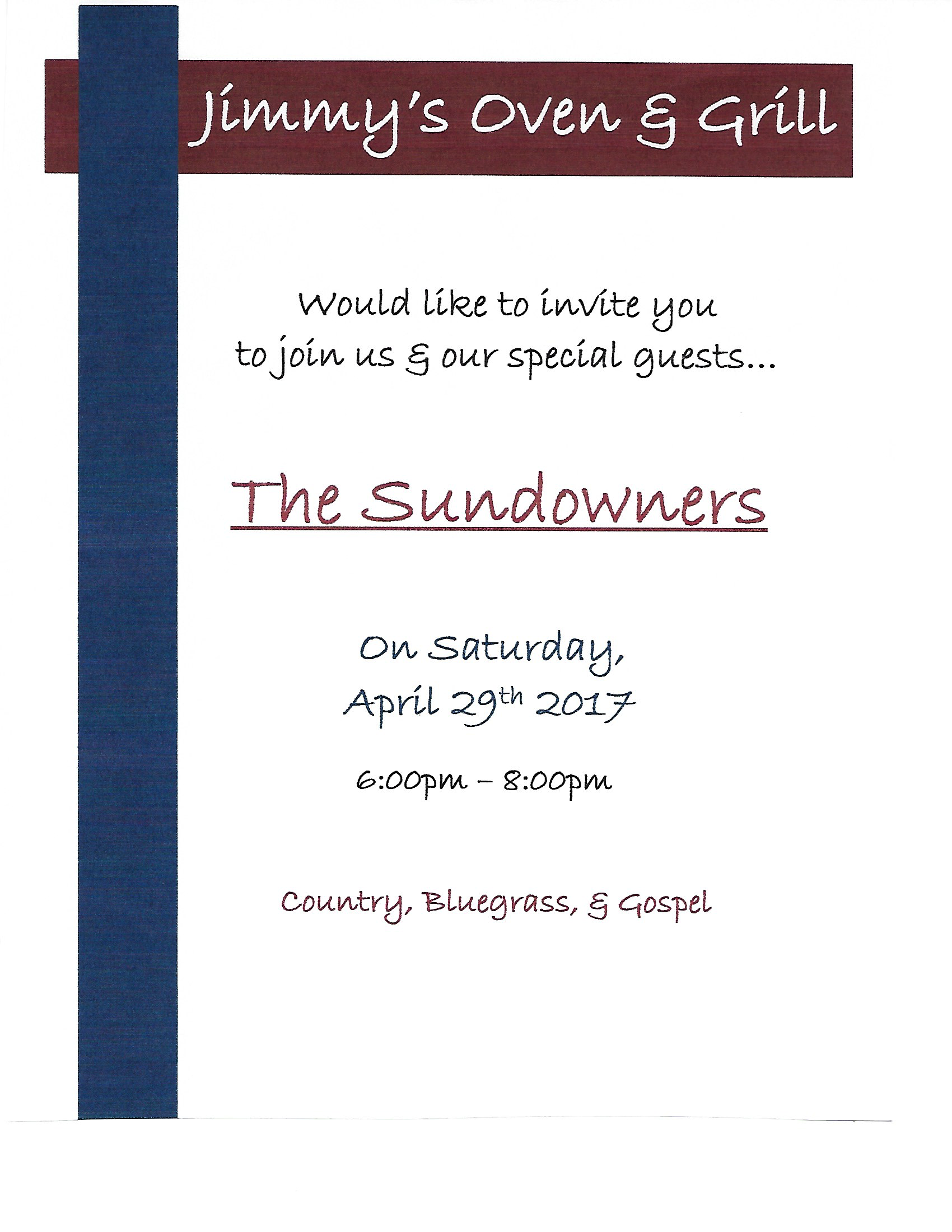 The Sundowners ping image