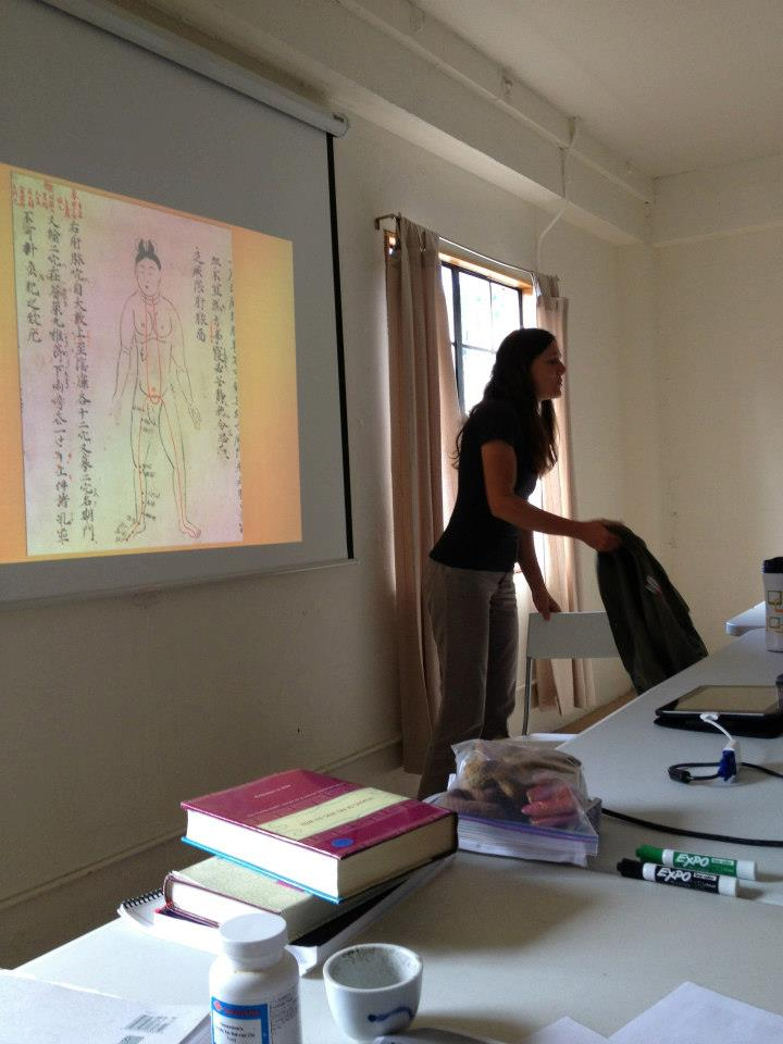 Teaching at Between Heaven and Earth, Fairfax