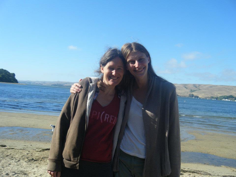 with Genevieve LeGoff