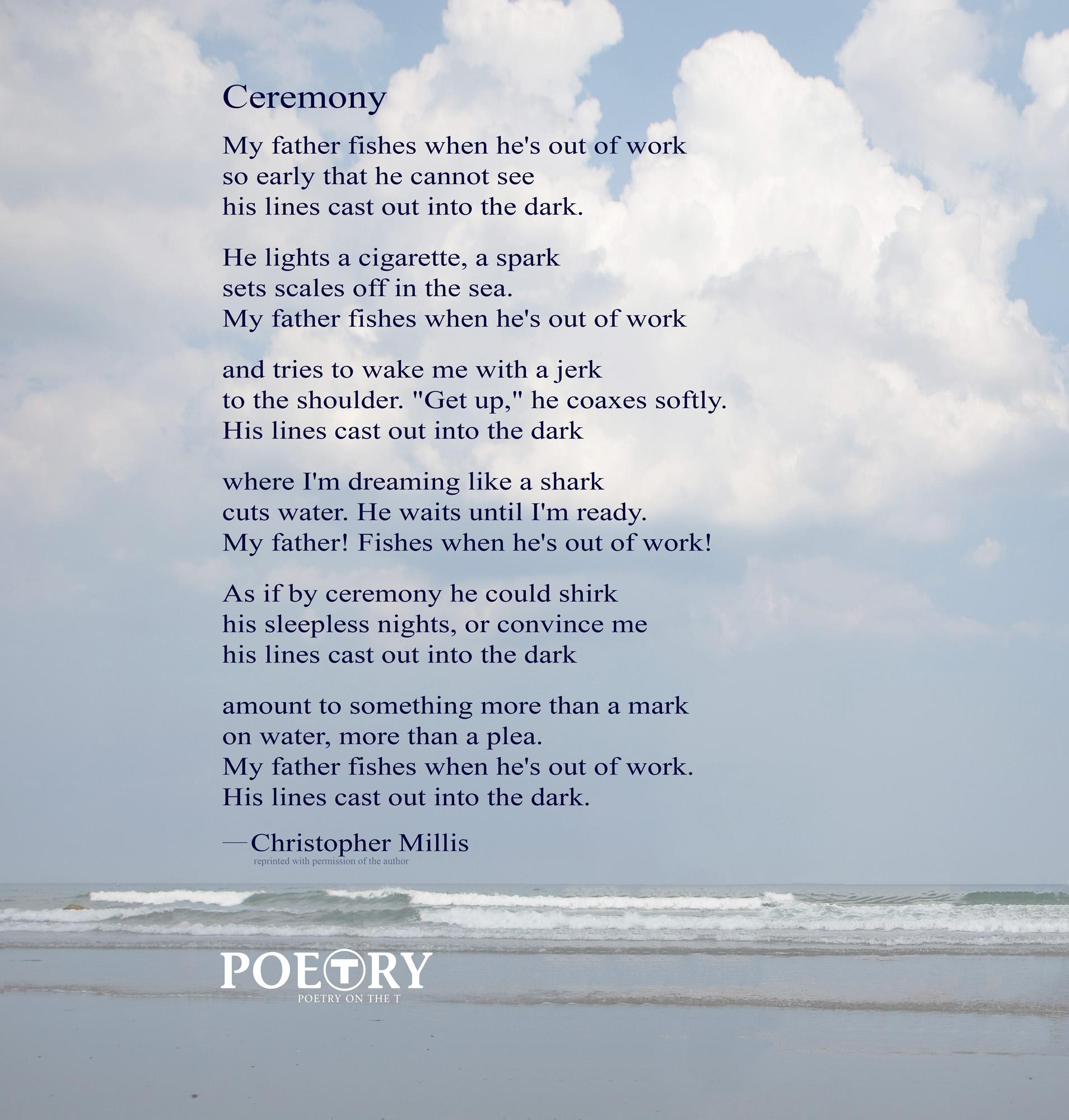 """Christopher Millis, """"Ceremony"""""""