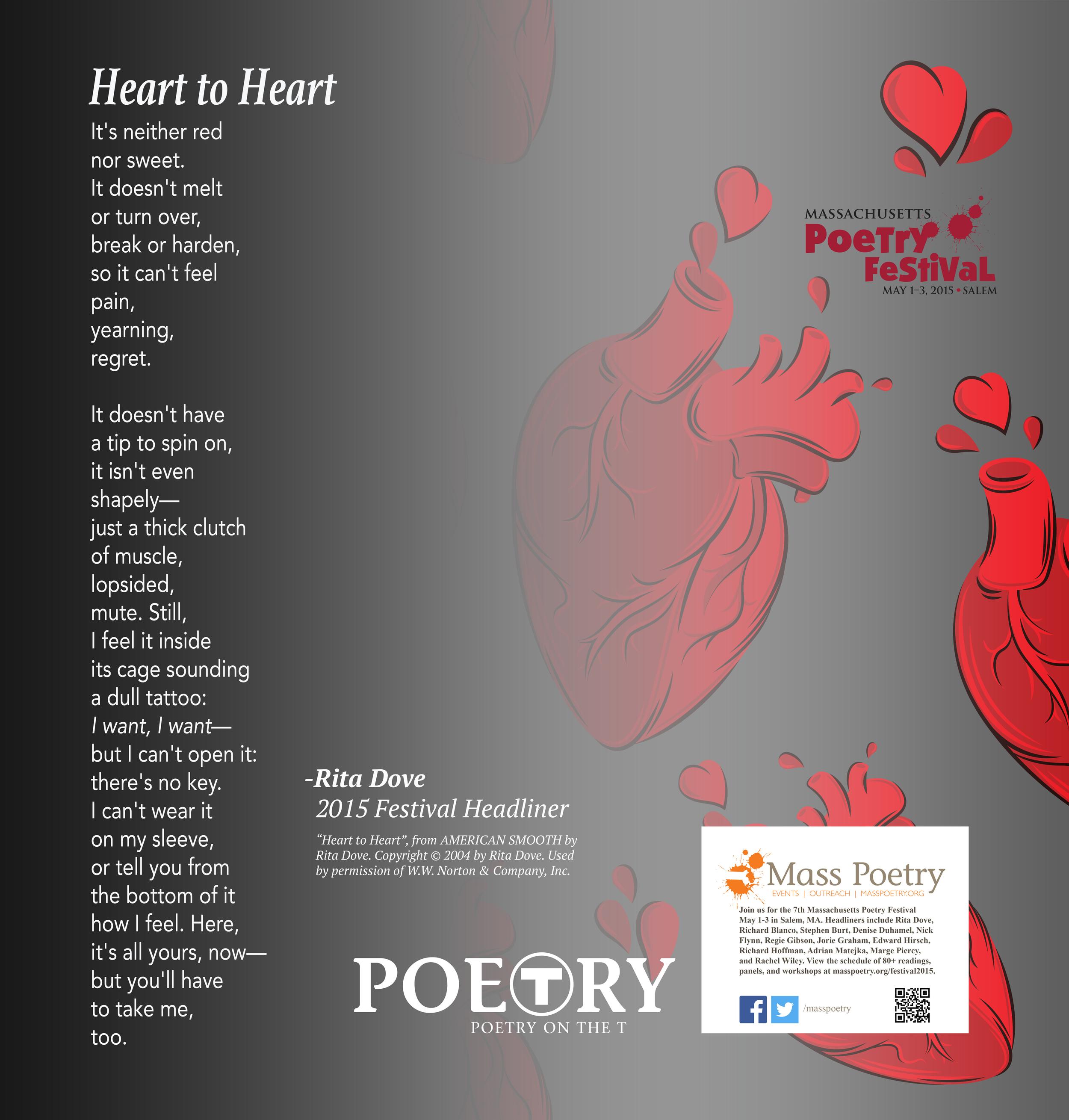 "Rita Dove, ""Heart to Heart"""