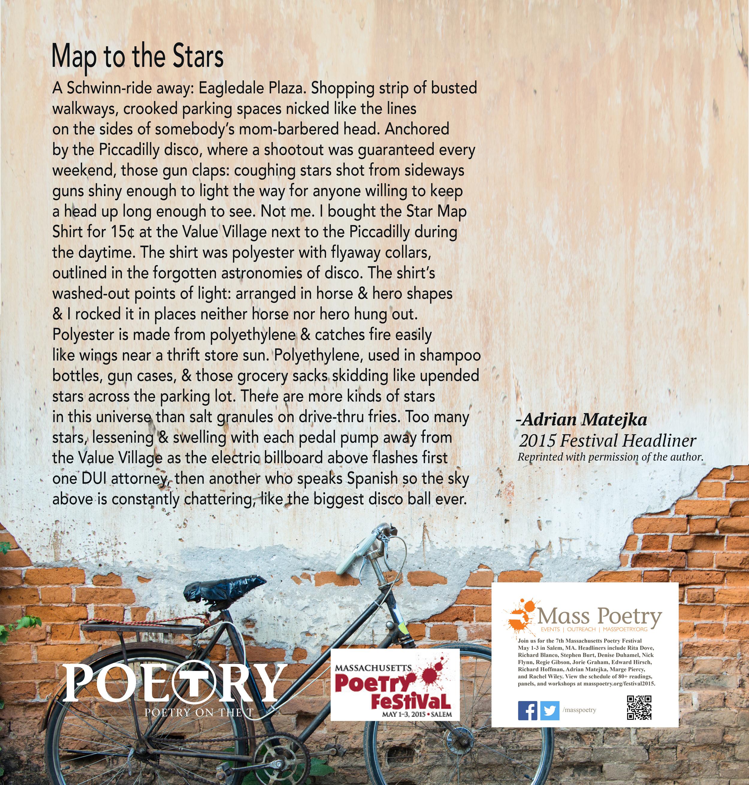 """Adrian Matejka, """"Map to the Stars"""""""