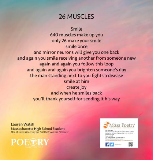 "Lauren Walsh, ""26 Muscles"""