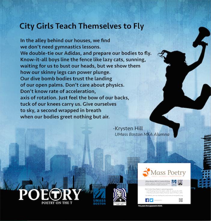 "Krysten Hill, ""City Girls Teach Themselves to Fly"""