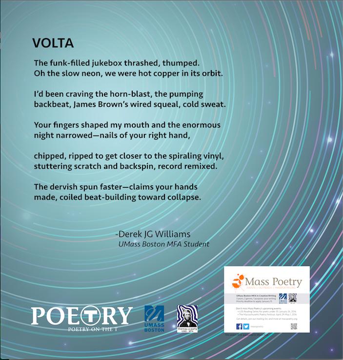 """Derek JG Williams, """"Volta"""""""