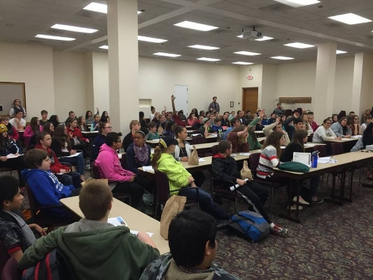 Student Day of Poetry 2015 at UMASS Amherst