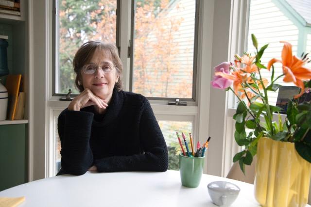 Gail Mazur. Photo by Morgan Lacasse.