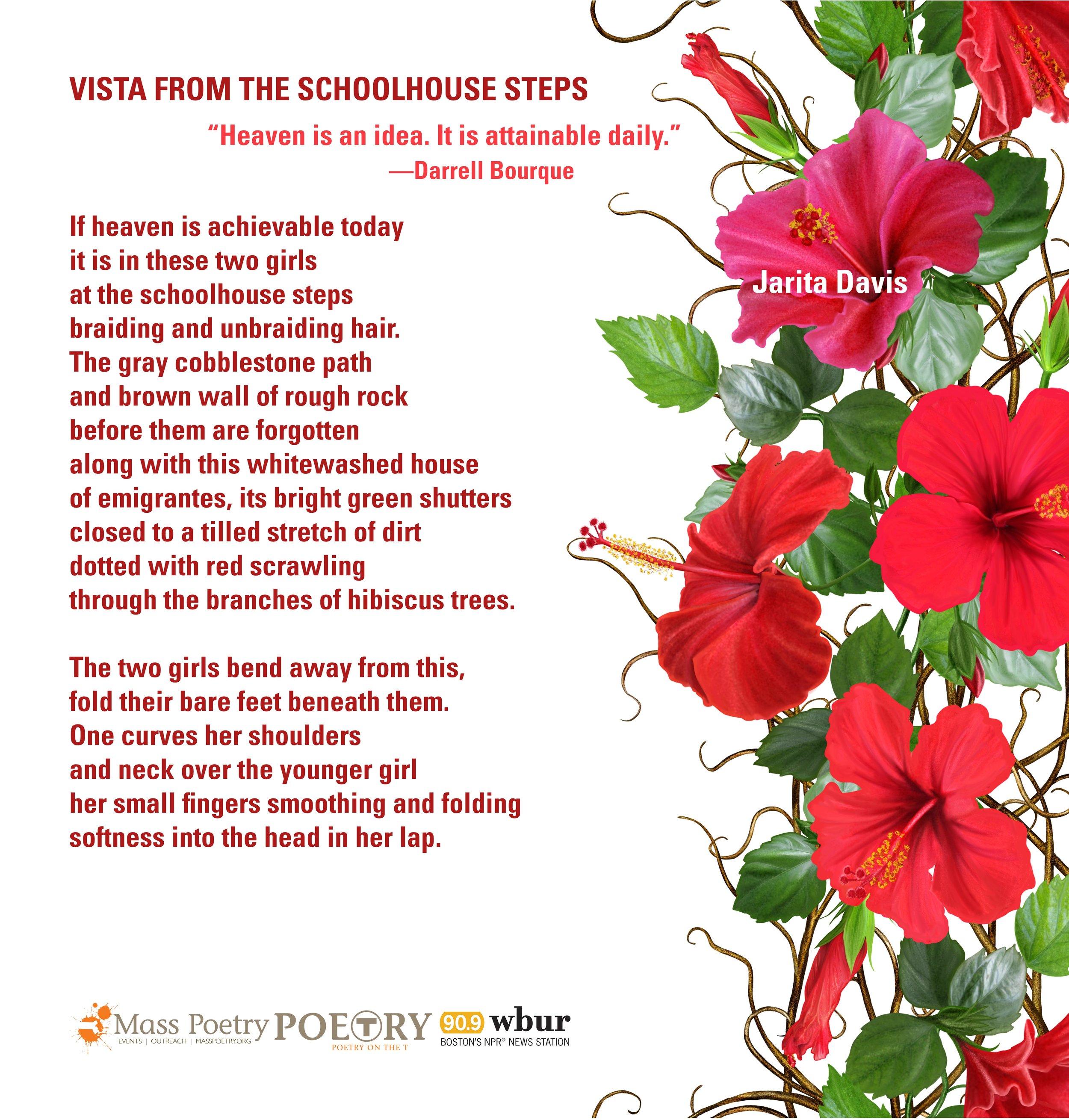 "Jarita Davis, ""Vista From the Schoolhouse Steps"""