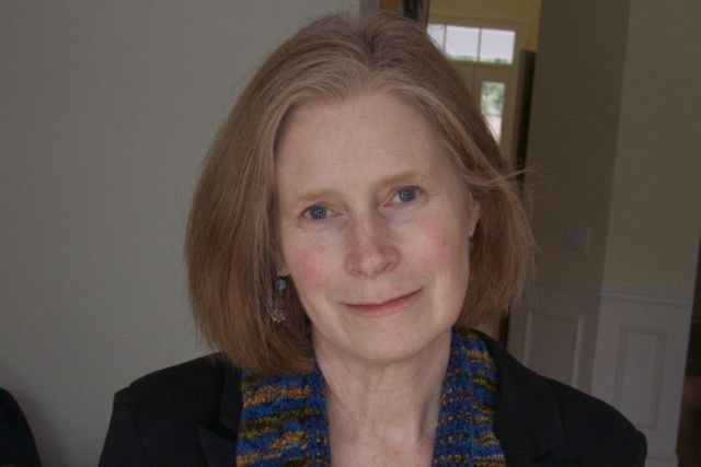 Catherine (Kate) Stearns  is the author of  Then & Again , the winner of the Slate Roof Press chapbook contest. Her previous book of poetry,  The Transparency of Skin , published by New Rivers Press, was a Minnesota Voices Project Winner. Kate has recent poems in  Salamander, New Ohio Review, North American Review, The Southwest Review , and  Yale Review , among other journals, and has had poems featured in  Poetry Daily  and  American Life in Poetry . Her work has been anthologized in  The House on Via Gambito: A Collection of Writing by American Women Abroad , and she has received grants and awards from the Iowa Arts Council, the Loft-McKnight Foundation, the Dana Award, and the Massachusetts Cultural Council. She lives in South Natick with her husband, Richard Klug, a cinematographer and film director. A long-time teacher of writing and literature, she is currently writer-in-residence at the Roxbury Latin School in Boston.