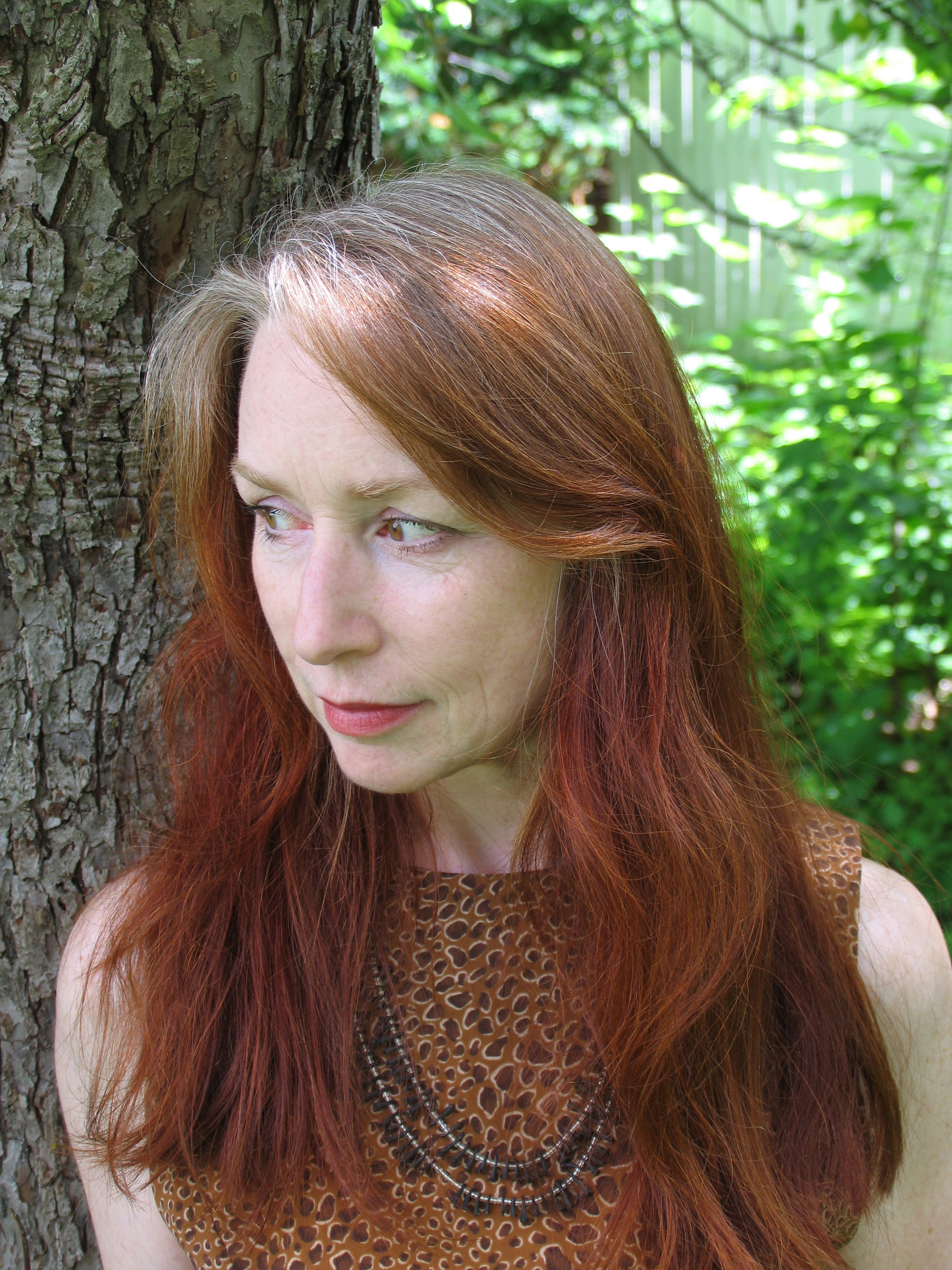Kathline Carr , writer and visual artist, is the author of  Miraculum Monstrum , (Red Hen Press 2017), winner of the 2015 Clarissa Dalloway Book Prize. Carr's work has appeared in many publications, including  Calyx, Alexandria Quarterly, Connecticut Review, Entropy, Yew Journal;  she has exhibited widely in New England, New York City, and Canada, and is represented by Fountain Street Gallery in Boston, MA. Carr received her BFA in Creative Writing from Goddard College, VT with concentrations in visual art and feminist philosophy, an MFA in Visual Arts from The Art Institute of Boston. She lives in the Berkshires. www.kathlinecarr.com