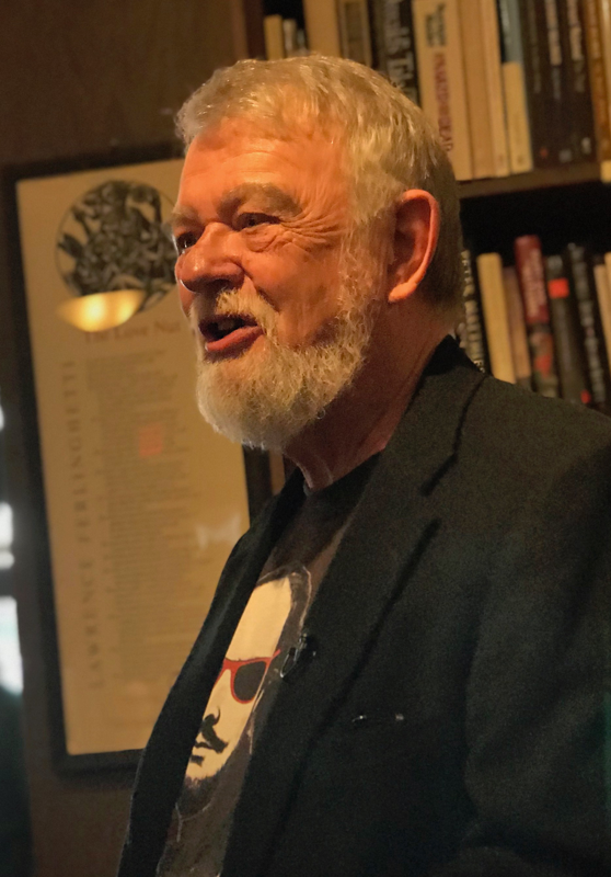 Gary Metras's new book of poetry is  White Storm (Presa Press 2018), with another book, Captive in the Here, due soon from Cervena Barva Press. The author of sixteen previous collections of poetry, his poems have appeared in  America,  The Common, Poetry, Poetry East, and Poetry Salzburg Review. A retired educator, he has taught middle school, high school, and college. He lives in Easthampton, Massachusetts, where he has recently been appointed the city's first Poet Laureate. He is also the editor and letterpress printer of Adastra Press.