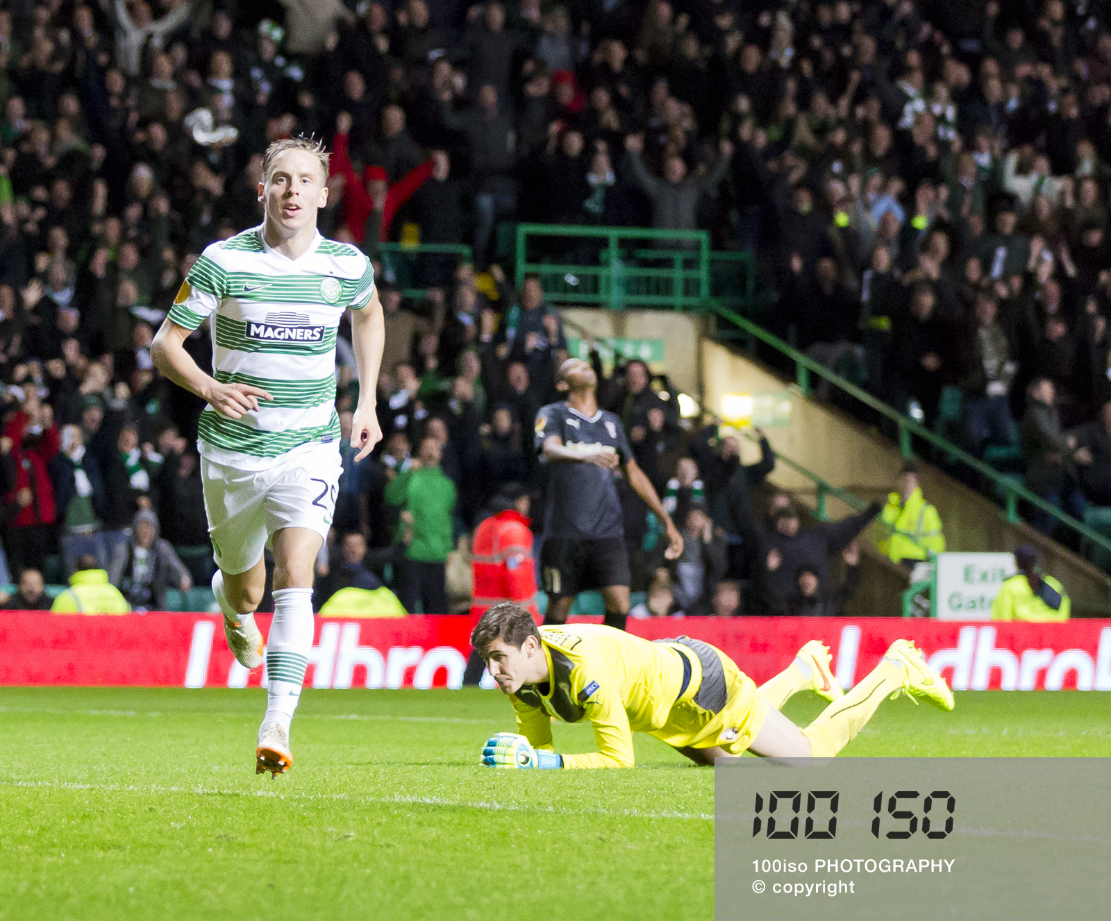 Stefan Johansen scores Celtics second of the night