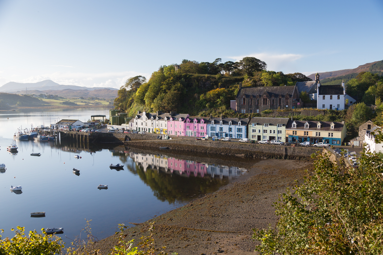 Portree Harbour — Skye