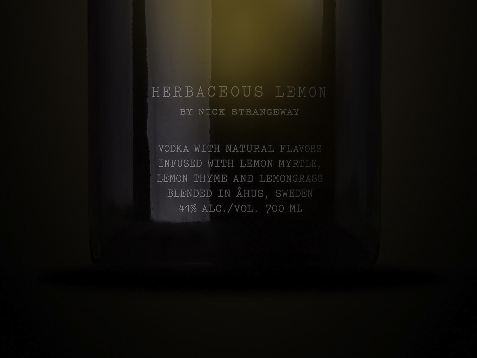 Absolut Craft — Herbaceous Lemon