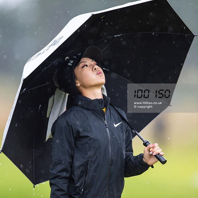 . Muni He (China) enjoys a good Scottish summer during the final round of The Aberdeen Standard Investments Ladies Scottish Open at The Renaissance Club, East Lothian. . The Aberdeen Standard Investments Ladies Scottish Open  The Renaissance Club  East Lothian  11 August 2019. . #MungHe #LETgolf #ownthelinks #eastlothian #ladiesgolf #therenaissanceclub #chinagolfnews #sportsphotography  #instagolf #golfgods #golfstyle #photographerslife #instagolfer #LETgolf #tournamentphotography