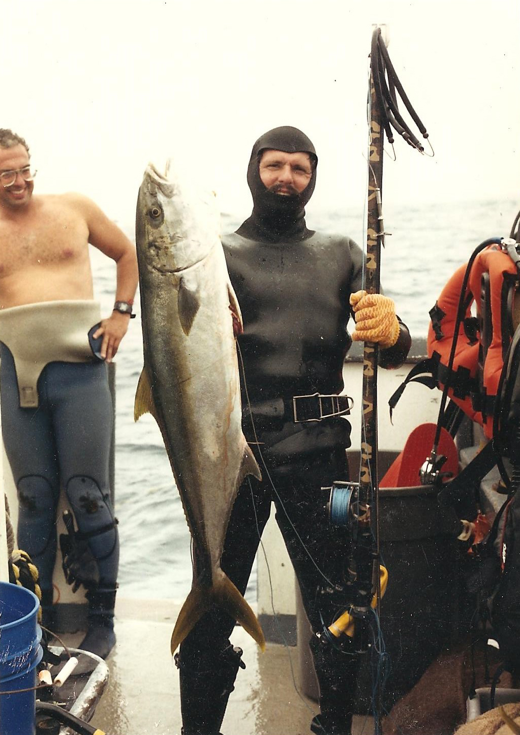 The story will be rich with the history of diving as seen in this classic Yellowtail shot.